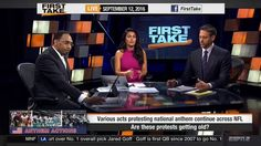 ESPN First Take Today 9-12-2016 Allen Iverson and Shaq Shout Out Stephen...