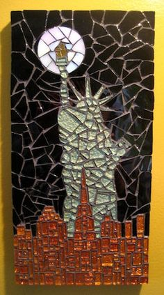 #Mosaic Stained Glass Creations By Rachael Cao