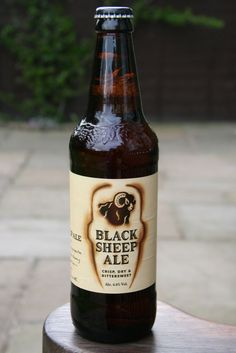 Black Sheep Ale (4.4%) - Black Sheep Brewery Masham North Yorkshire England. When Ale is done right. It tastes like this.