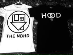 GOT MY NBHD SHIRTS IN THE MAIL TODAY:,,,,,)<3