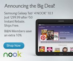 Barnes & Noble has NOOKS ON SALE and The Criterion Collection movies and DVDs and Blu-ray Sales going on along with books and ebooks too! See the deals at fictionbooks4u.com/barnes-and-noble-deals