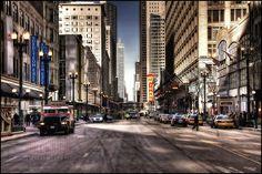 Chicago City Center | State Street | Illinois - USA | Paul Biris | Flickr