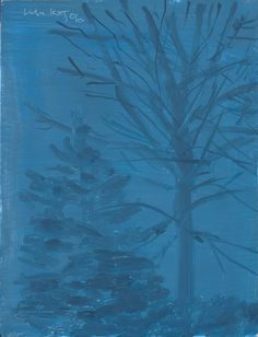 """Midnight"" by Alex Katz, 2006"