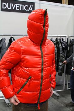 Puffy Jacket, Sweater Jacket, Ford Models, Male Models, Nylons, Pvc Raincoat, Sleeping Bag, Overalls, Winter Jackets