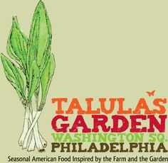 Talula's Garden great outdoor dining overlooking Washington Square Park in old city, Philadelphia Pennsylvania.  Rustic and romantic setting with a cheeseboard to die for! Fresh farm to table ingredients - one of my absolute favorites!
