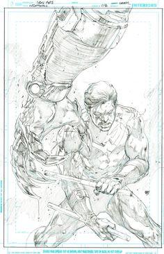 Superman 16 Cover - Ivan Reis & Oclair Albert - W.B.