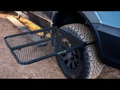 TailGater Tire Table is stable regardless of ground conditions. It has a retractable leg for extra support. Fits most tire sizes and up. Jeep Camping, Camping Survival, Camping Hacks, Motorhome, Tire Table, Camping Pillows, Camping Table, Camping With Kids, Truck Accessories