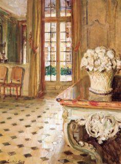 Dining Room Chateau du Breau - Walter Gay