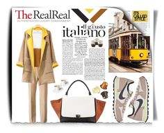 """The RealReal: Key Pieces For The On-Trend ""Italian"" Woman"" by alevalepra ❤ liked on Polyvore featuring CÉLINE, Madewell, NIKE, Eva Solo and Nespresso"