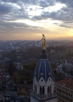 """Saturday - I have been to the exhibition """"Lyon, center of the world"""". I love my city ♥ The Places Youll Go, Places To See, Beautiful World, Beautiful Places, Lyon City, Belle Villa, Air France, Rhone, France Travel"""