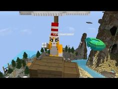 Minecraft - Race To The Moon - Bouncy Ladder! [34] - YouTube
