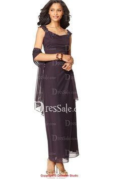 Stunning Mother of the Bride Dress with Illusion Cape Dressy Dresses 0b778b89e220