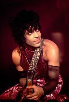 Pin for Later: Look Back at Prince's Amazing Life Through Pictures  He celebrated his birthday and the release of Purple Rain in Minneapolis in 1984.