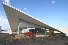 Hyperbolic Paraboloid - Architect James R. Mowry Ken Wilson Chevrolet Automobile Showroom, Vestal, NY