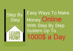 Hi, In this video i will show you some easy ways to make money online. Check it here