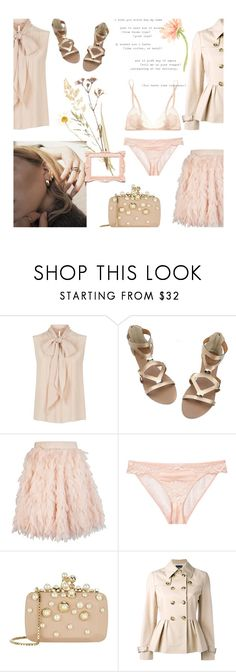 """""""Turn the lights down low"""" by alongcametwiggy ❤ liked on Polyvore featuring MaxMara, Sia Dimitriadi, STELLA McCARTNEY, Elie Saab, Boutique Moschino, Carine Gilson and GET LOST"""