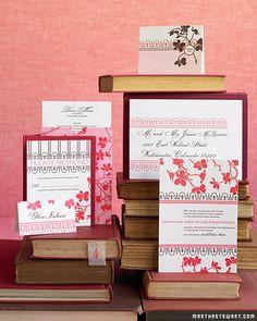 Wedding stationery for every season