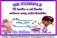 Doc Mcstuffins Invitations (Spanish) Idea