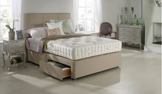 Hypnos Larkspur bed Hypnos Larkspur bed 5ft for 4ft 6 price, PLUS 2 FREE drawers