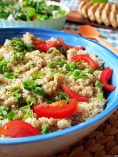 Kaakao kermavaahdolla: Keitetty kvinoa #kruoka