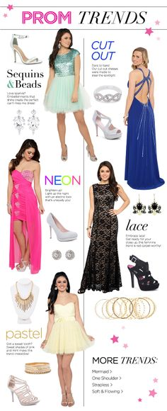 2014 Prom Trends -- Replicate the looks by shopping vintage and resale or borrowing from friends and family.