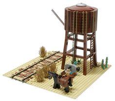 Steam Train Water Tower | Flickr - Photo Sharing!