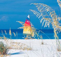 Fort Walton Beach, Florida (Do you get the idea -- the sand is white!)