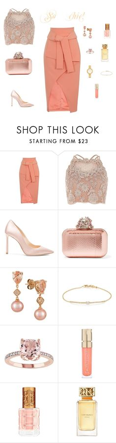 """""""So chic!"""" by mariagraziatrotta ❤ liked on Polyvore featuring Lavish Alice, Jimmy Choo, LE VIAN, Tate, Smith & Cult, Tory Burch and Fendi"""