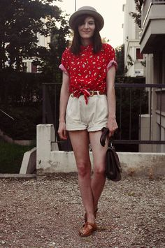 A very vintage AA top (by Lady Moriarty) http://lookbook.nu/look/3888612-A-very-vintage-AA-top