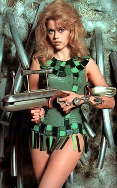 Jane Fonda, Barbarella: Queen of the Galaxy | Played by: Jane Fonda Film: Barbarella (1968) The swingin' '60s definitely needed its own sci-fi siren and Jane Fonda stepped up to the plate. Just