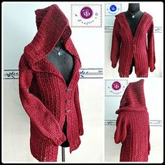 Overcast Sweater- Free Crochet Pattern - Ravishing Red Free Crochet Patterns