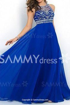 Spliced Beading Embellished Backless Elegant Round Neck Sleeveless Maxi Dress For Women