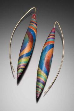 beautiful earrings by Kathleen Dustin
