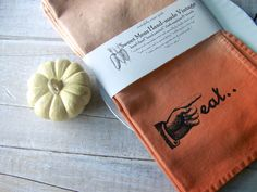 Thanksgiving Fall Cloth Napkins // Autumn EAT // by SweetMeas, $58.00