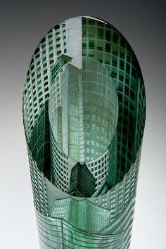 Katharine Coleman glass engraaver