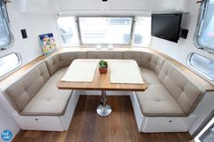 1978 Airstream Trade Wind, renovated by HofArc.