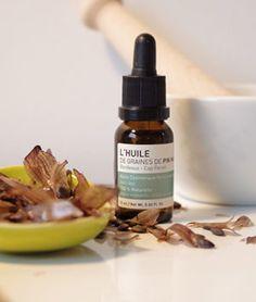 L'huile de graines de fin maritime restructuring and anti aging facial oil for collagen production.
