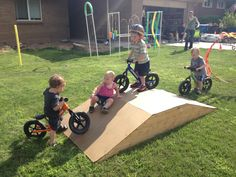 preschool bike ramps - Google Search