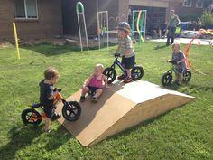 preschool bike ramps - Google Search