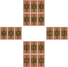 Velký kříž - Cikánské karty Tarot, Holiday Decor, Home Decor, Decoration Home, Room Decor, Home Interior Design, Home Decoration, Interior Design, Tarot Cards