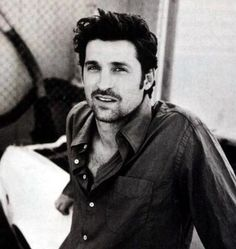 Patrick Dempsey, I must be old cause I think he's even hotter now with a few streaks of grey in his hair :)