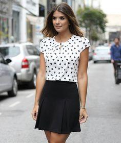 {Summer17} A querida @arianecanovas com mais um look lindo Black & White! ❤❤❤