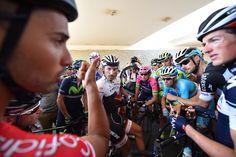 Tour of Oman: 5th stage cancelled ファビアン・カンチェラーラ(スイス、トレックファクトリーレーシング)らを中心に意見をまとめる