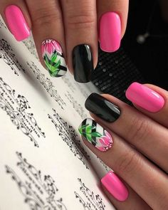 Pour ongle About this pin; 221 Related posts: Beautiful Nail Art Designs for Summer 2019 – Page 9 of 23 Awesome 23 Cute Nail Art Designs To Try In 2017 23 Ombre Nail Designs That You Have to Try This Summer Cute Summer Nail Designs, Cute Summer Nails, Short Nail Designs, Nail Designs Spring, Spring Nails, Cute Nails, Pretty Nails, Nail Summer, Tropical Nail Designs