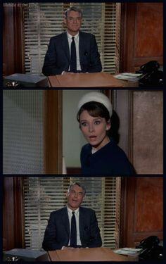 Charade: Audrey Hepburn and Cary Grant