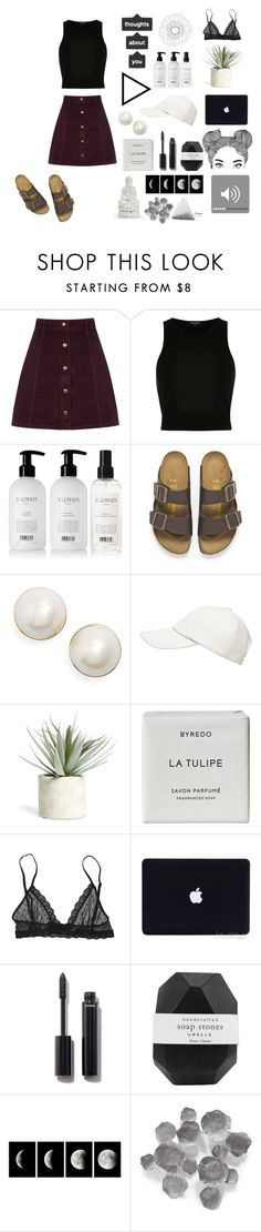 """""""SOMETIMES IT ALL GETS A LITTLE TOO MUCH"""" by myprettyboys4 ❤ liked on Polyvore featuring Oasis, River Island, Balmain, Birkenstock, Kate Spade, Witchery, Allstate Floral, Byredo, Eberjey and Chanel"""