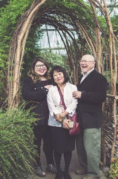 Family portraits at The Muttart Conservatory in Edmonton, Alberta. #FamilyPortraits #YEG #Portraits #Family