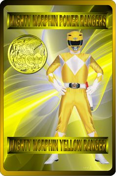 Mighty Morphin Yellow Ranger by rangeranime on @DeviantArt