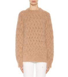 mytheresa.com - Angora-blend sweater - Knitwear - Clothing - Luxury Fashion for Women / Designer clothing, shoes, bags