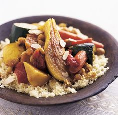 Seven-Vegetable Couscous recipe from Food Network Kitchen.